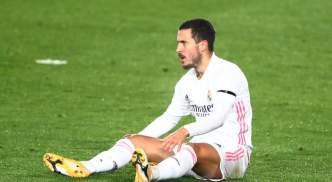 Real Madrid's Eden Hazard