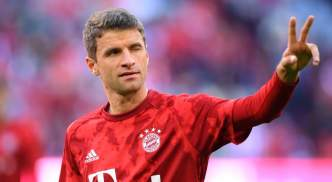 Thomas Muller has won for a second straight year