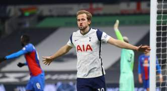 Harry Kane was in spectacular form against Palace