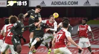 Arsenal 0 0 Man Utd Player Ratings Holding Stars In Draw