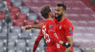 Thomas Muller scored but it was a bad night for the holders