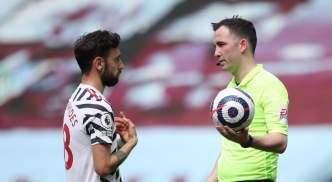 Bruno Fernandes scored a trademark penalty against Aston Villa