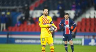 Lionel Messi had a mixed night against PSG