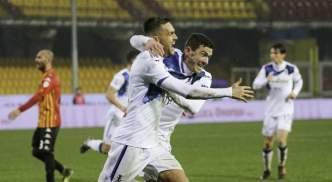 Ilicic celebrates against Benevento