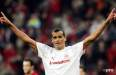 Rivaldo's goals in Olympiacos spell, visualised