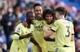 Crystal Palace 1-3 Arsenal: Pepe stars as Aubameyang struggles