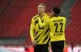 Dortmund 1-2 Frankfurt Player Ratings: Haaland's goalless run stretches to four games