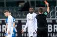 Marcus Thuram sent off for spitting in the face of a Hoffenheim player