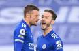 Leicester 2-2 Manchester United: Foxes score late to stay second