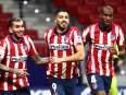Atletico Madrid 2-1 Osasuna: Luis Suarez puts Atleti on verge of La Liga glory