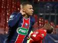 Kylian Mbappe: PSG star warms up for Barcelona in style
